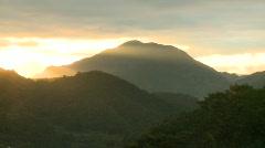 Banaue sunset 4 Stock Footage
