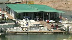 Watercraft rentals lake travis med Stock Footage