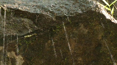 Banaue running water 1 Stock Footage