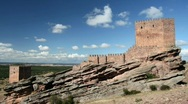 Stock Video Footage of Castillo de Zafra 2