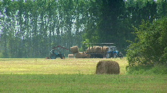Tractor in the field 10 Stock Footage