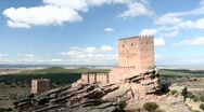 Stock Video Footage of Castillo de Zafra 3