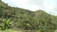Mountain road in Banaue 4 Stock Footage