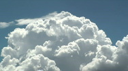 Stock Video Footage of Cloud Skyrockets