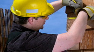 Construction worker  Stock Footage