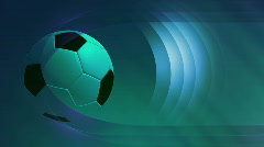 Soccer animated background  Stock Footage