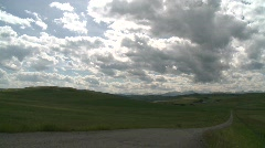 Clouds and foothills ranch, time-lapse, #4 Stock Footage