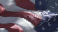 HD AMERICAN FLAG Stock Footage