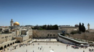 Stock Video Footage of wailing_wall_02