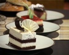 Cakes And Desserts Stock Footage