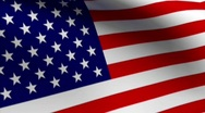 LARGE AMERICAN FLAG HD Stock Footage