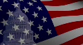 United States Capitol Flag HD Footage