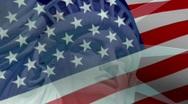 Liberty American Flag Stock Footage