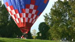 Balloon Landing 2 Stock Footage