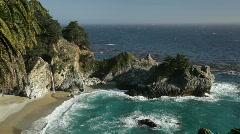 McWay Falls, Big Sur, California   Stock Footage