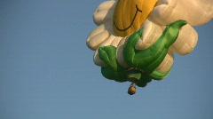 Daisy Balloon Close Up Stock Footage