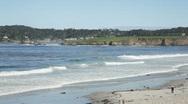 Stock Video Footage of Carmel Beach, California