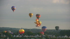 Festival Of Balloons Mass Launch Gatineau Ottawa Canada Stock Footage