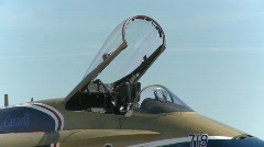 military, F18 Hornet fighter jet  x9 montage - stock footage