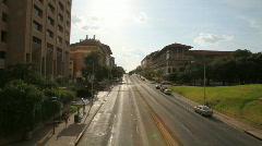 University of Texas Street Stock Footage