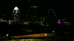 Downtown Austin Close Shot Stock Footage