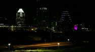 Stock Video Footage of Downtown Austin Close Shot