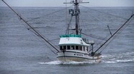 Stock Video Footage of fishing boat