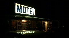 Motel Stock Footage