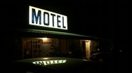 Motel Stock Footage