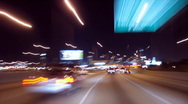 Stock Video Footage of Busy City Expressway Drive