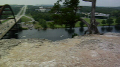 360 Bridge Austin, Texas Stock Footage