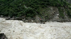 Tiger Leaping Gorge, China, time lapse Stock Footage