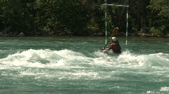 Sports and fitness, kayaks on the river, #4 Stock Footage