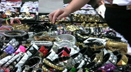 Shopping For Jewelry Stock Footage