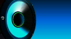 Subwoofer pods hd Stock Footage
