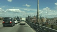 Stock Video Footage of The Gowanus Expressway