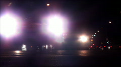 Car Headlights Time-Lapse HD - stock footage