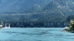 Bonneville dam Stock Footage