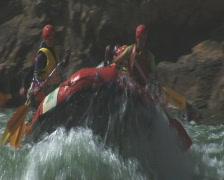 Rafting 2 P Stock Footage