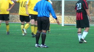 Stock Video Footage of Referee gives penalty kick - HD