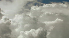 Cumulus Clouds timelapse - HD  Stock Footage