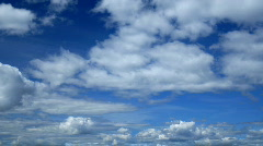 Blue Sky and Clouds 2 - stock footage