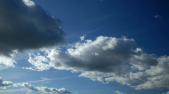 Blue Sky and Clouds - stock footage
