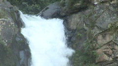 Banaue valley waterfall 6 Stock Footage