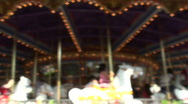 Stock Video Footage of Merry-go-round V2