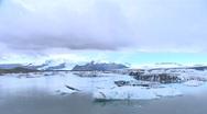 Glacier Lagoon 1 Stock Footage