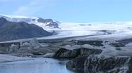 Glacier Lagoon 3 Stock Footage