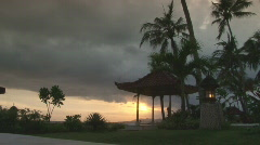 Bali 08 Sunset 4 Stock Footage