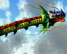 dragon - stock footage