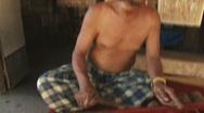 Bali 42 Tenganan Music Cylophone  Stock Footage
